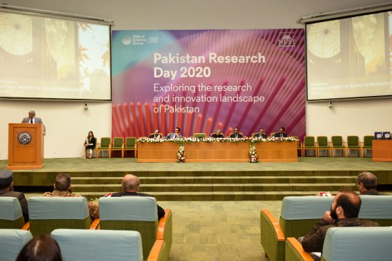 """Web of Science-A Clarivate Group Company holds the first """"Pakistan Research Day"""" at NUST"""